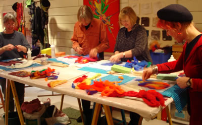 Felting Workshop 2009