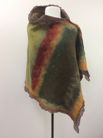Nuno Felted Poncho, Vest or Wrap Workshop